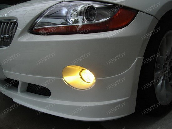 BMW - Z4 - Golden - Yellow - Xenon - Fog - Lights - 2
